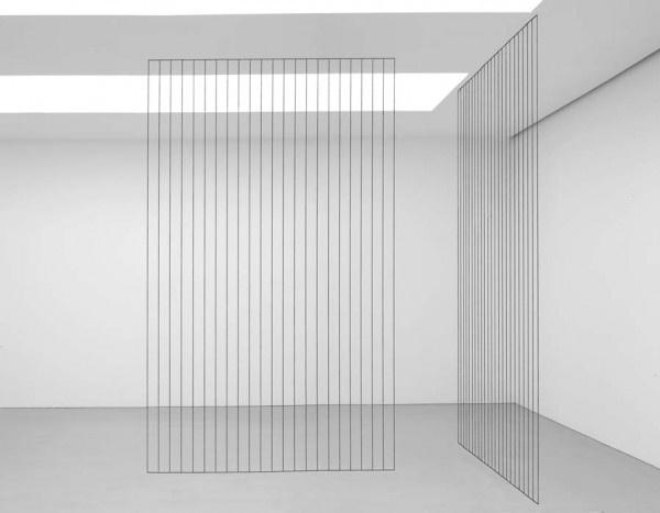 continuities:Fred Sandback #abstract