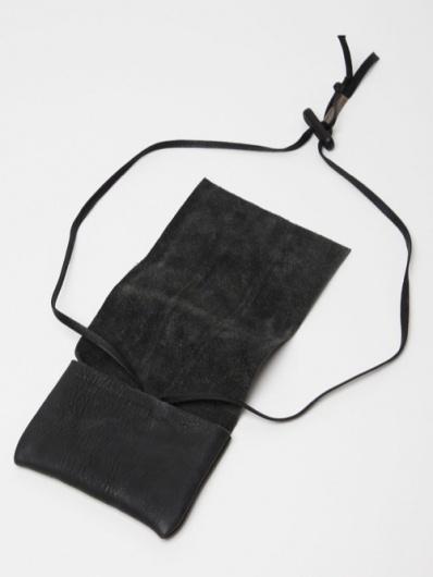 Boris Bidjan Saberi Leather Pouch Wallet | Por Homme - Men's Fashion, Footwear, Culture and Lifestyle Magazine #boris #wallet #product #leather #bidjan