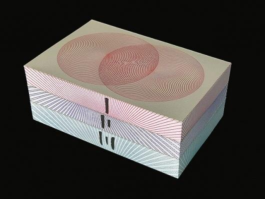 Murakami's 1Q84: Limited-edition : Stefanie Posavec #cover #design #book