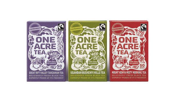 One Acre Tea #packaging #tea
