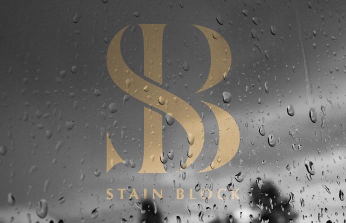 Stain Block Identity #logo #symbol #monogram #icon #minimal #elegant #branding
