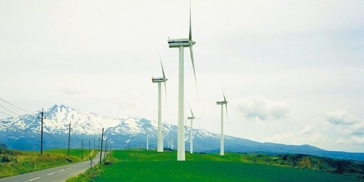 Yozo Takada | Colossal #wind #yozo #windmill #takada #photography #farm
