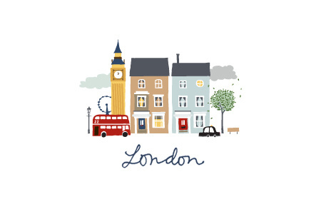 LONDON CITYGUIDE LOGO #city #illustration #london