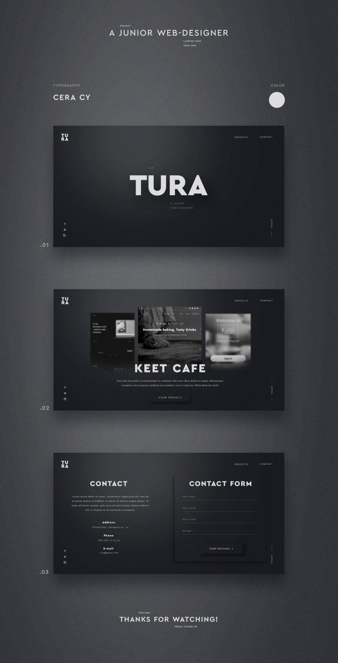 Tura UI Design