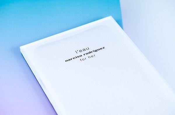 Narciso Rodriguez - press kit - project #packaging #design #graphic #press #photography #gradient #kit