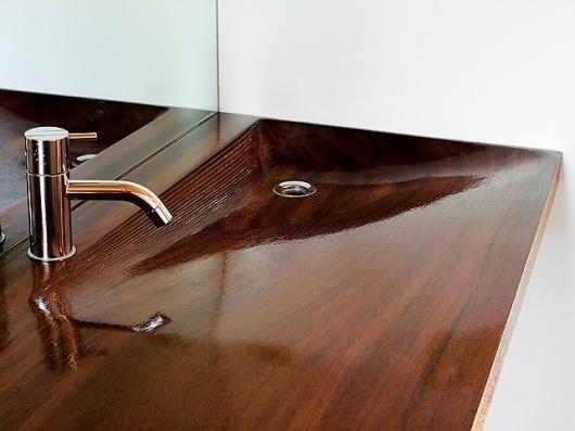 Floating House, Lake Huron - Slideshows - Dwell #interior #design #tape #sink