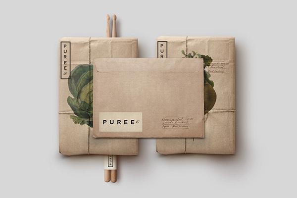Puree packaging