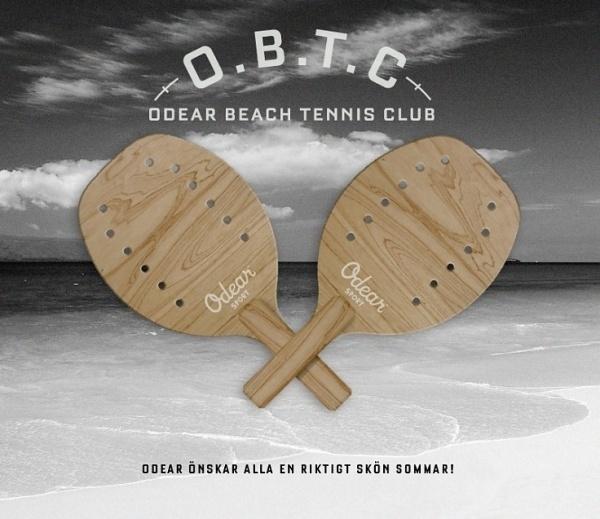 Odear - Odear - Grafisk design #tennis #summer #sport #plywood #beach #club