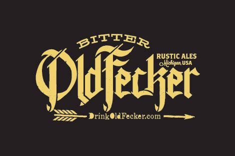 Bitter Old Fecker Logo #beer #logo