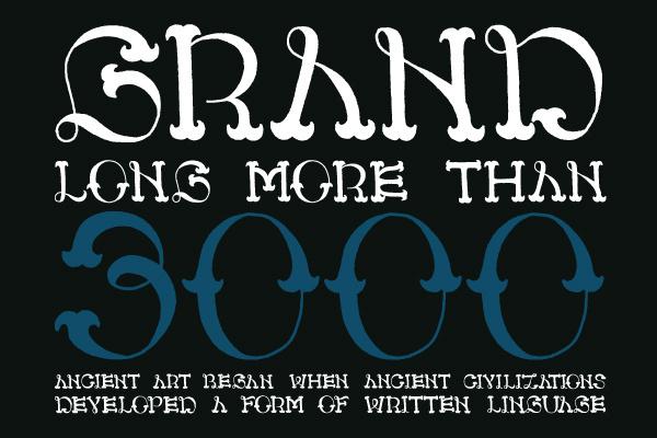 CS Liana #font #illustration #handmade #typography