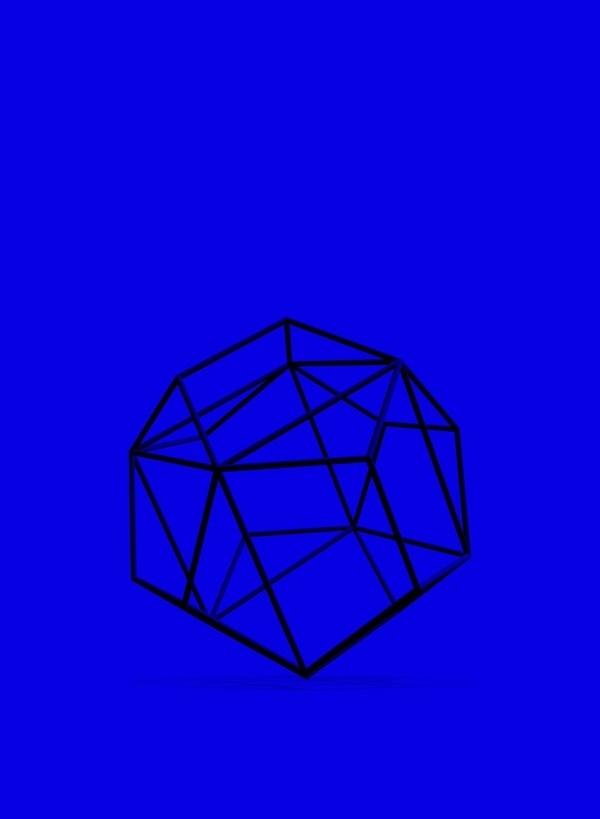 Foragepress.com   Landscape Studio #geometry #render #space #shape #blue