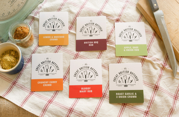 The Great British Butcher #british #butcher #heritage #branding #packaging #print #designbyday #traditional #logo