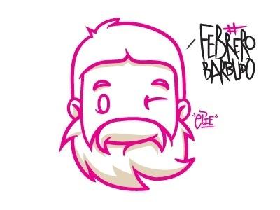 Febrerobarbudo #illustration #vector #character #design