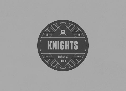 CCHS Knights | kylefletcher.com #logo #circle