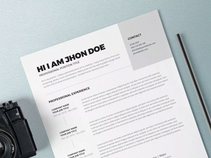 Free Hospitality Resume Template for your Next Job Opportunity