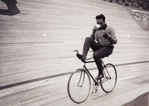 Biking in style #bike #vintage #style