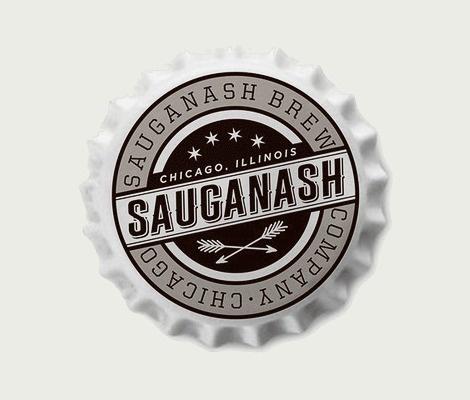 Sauganash Brewing Co. Cap #brewery #beer #bottle #brewing #cap