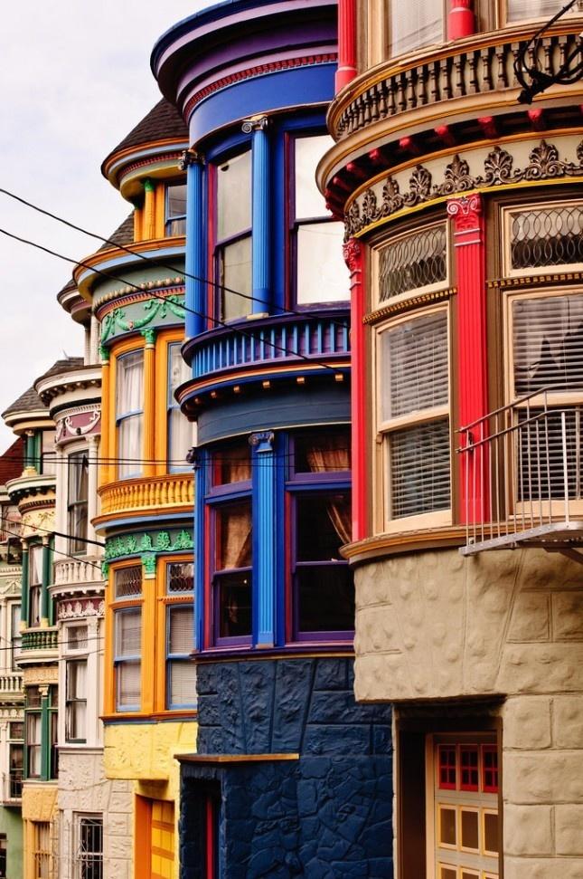 18 Cool Color Blocked Buildings | Brit + Co. #building #colour #housing