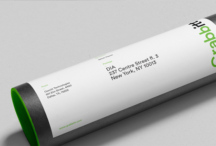 Grabbitt by DIA #branding #labels