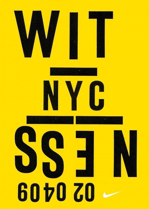 HORT — High-res Special | September Industry #nike #design #short #typography