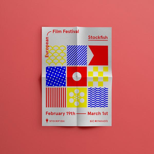 Stockfish Film Festival #stockfish #festival #branding #identity #poster #film