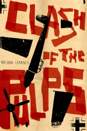 Typeverything.com - Clash of the Pulps byEdel... - Typeverything #red #black #poster #type #typography