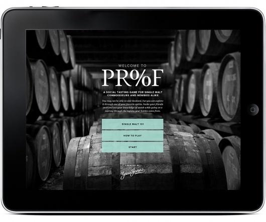 Proof | Zeus Jones #jones #scotch #design #digital #app #zeus