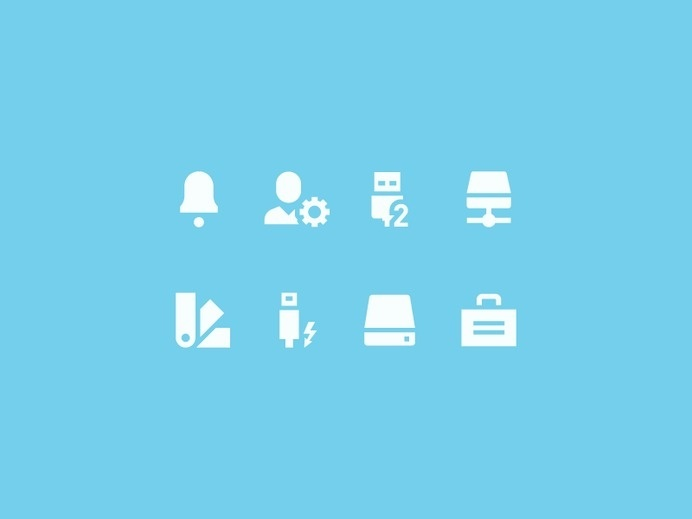 Interface Icons by Tom Nulens #pictogram #icon #sign #interface #set #picto #symbol