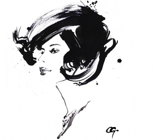 OHGUSHI Fashion Illustration – Illustration inspiration on MONOmoda #fashion #illustration