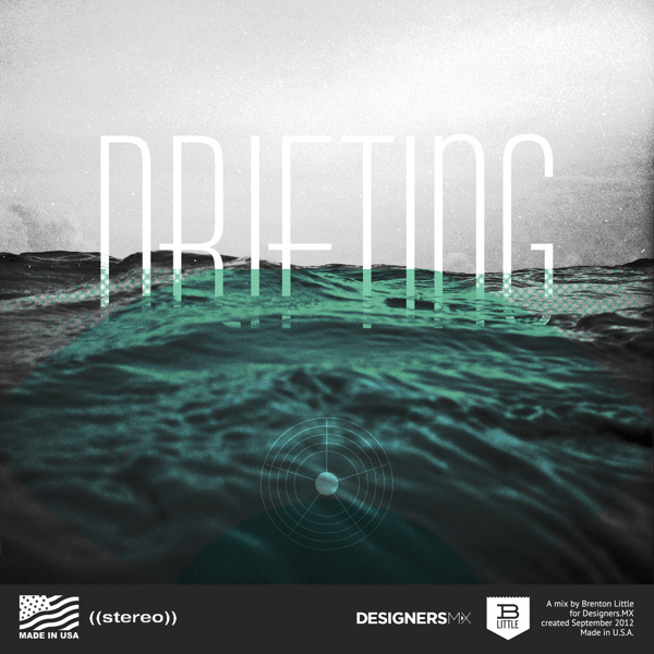 Characters in Nature on the Behance Network #designersmx #ocean #water #landscape #typography