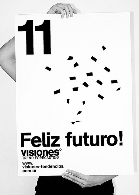 saludo vsns | Flickr: Intercambio de fotos #happy #year #design #graphic #poster #menthol #new