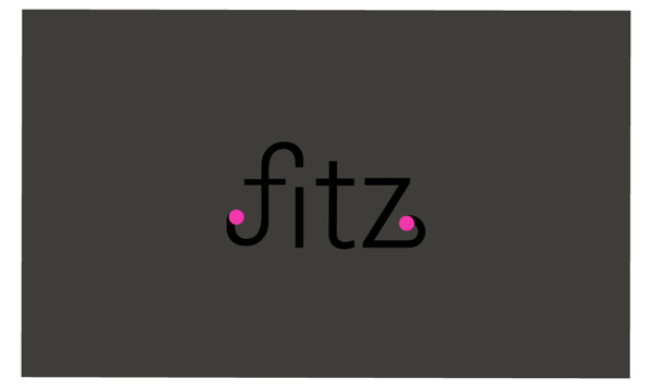 Identité Visuelle Lee Ann Fitz on the Pantone Canvas Gallery #gill #branding #pink #type #typography