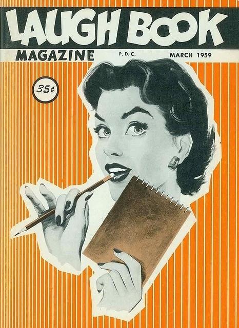laugh-book-march-1959   Flickr - Photo Sharing! #illustration #magazine