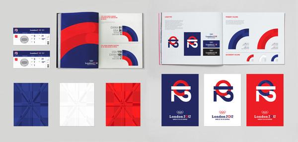 Olympic Games 2012 Graphic Profile #graphic design #olympics #profile #london #2012 #simon jung krestesen #wwwsimonjkcom