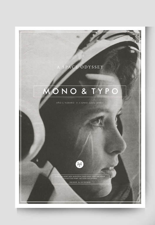 MONO&TYPO No. 2 on Behance #layout