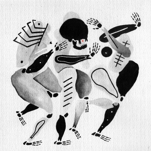 #skeleton #illustration #black