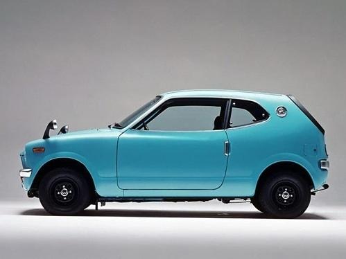 Twibfy #old #vehicle #1st #cvcc #honda #restore #blue #generation #japan
