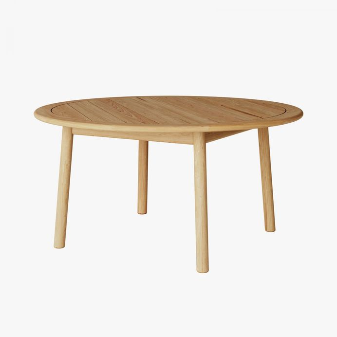 Tanso Round Table by David Irwin for Case Furniture. #outdoordiningtable