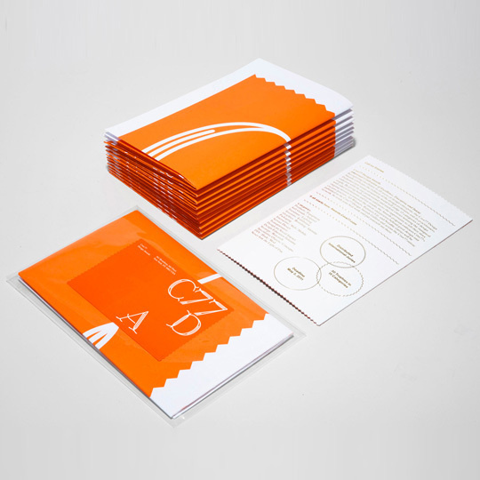 Perpetual Calendar for Fab #print #orange #white