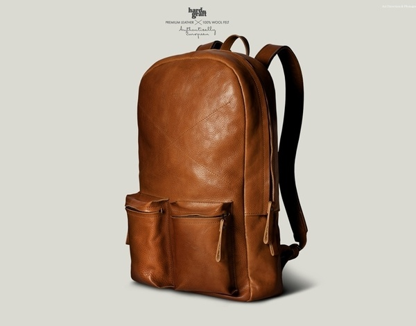 0123 pic on Design You Trust #backpack #oldschool #leather #laptop