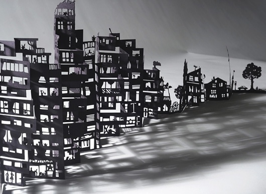 mathilde nivet - upon a fold #creative #design #des #handmade #paper