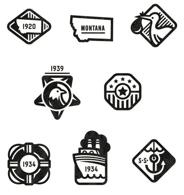 Ancestry Badges Valerie Jar / Design + Illustration #illustration #icon #system #badges