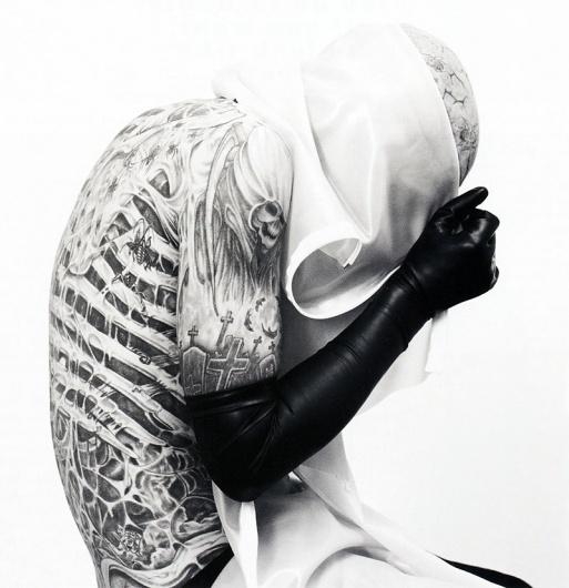 11.jpg 800×826 pixels #genest #white #black #karim #photography #and #fashion #rick #editorial #sadli