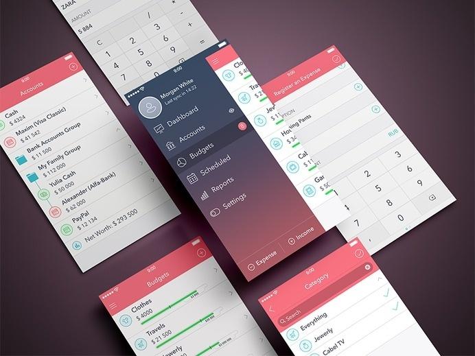 Finance iPhone App #app