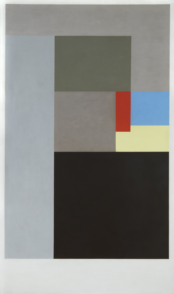 Ben Nicholson, Painting, Cadmium Red, Lemon and Cerulea, 1936