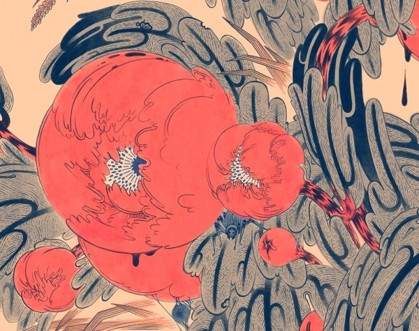 Micah Lidberg | Peony #illustrations