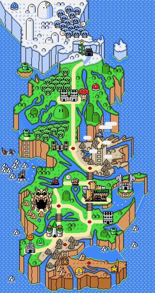 edu723.tumblr.com/ #nintendo #mario #of #pixel #game #thrones #8bit