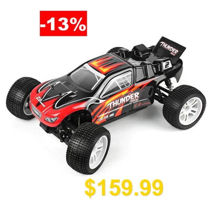 ZD #Racing #10423 #- #S #1:10 #RC #Off-road #Truck #- #RTR #- #BLACK