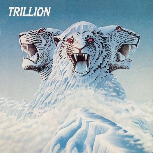 Trillion.jpg (1417×1417) #album #mountain #lion #head #illustration #vinyl #3 #art #music #god #queen