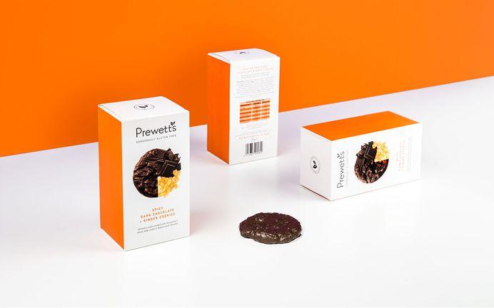 Prewetts Premium Gluten-free Cookies on Behance